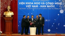 vietnam korea institute of science and technology kicked off