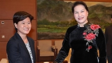 na chairwoman ambassador discuss upcoming trip to singapore