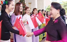 top vietnamese legislator begins visit to singapore