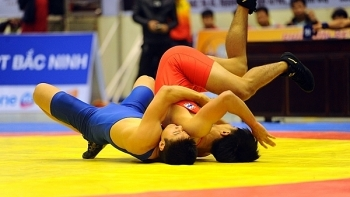 vietnam wins championship at southeast asian wrestling championships