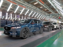 thaco rolls out new model of mazda cx 5