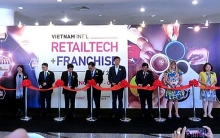 10th vietnam intl retailtech franchise show held in hcm city