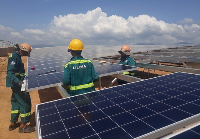 ninh thuan speeds up renewable energy projects