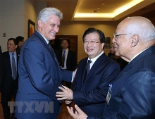 vietnam cuba promote trade investment ties