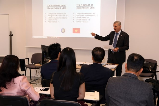 italian firms updated on investment opportunities in vietnam