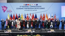 pm attends 2nd rcep leaders meeting