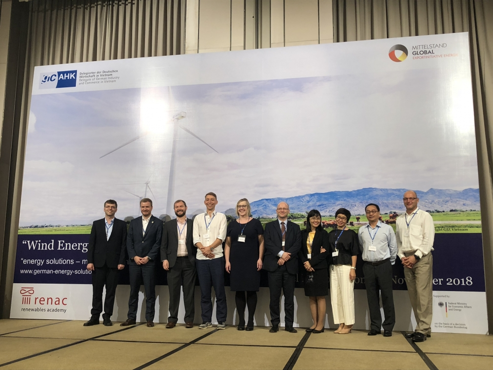 Germany looks to leverage wind energy expertise in Vietnam