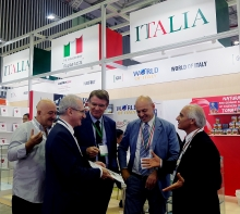 a taste of italian delights served at foodexpo 2018