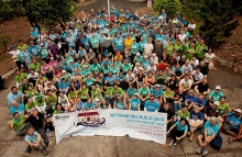 habitat for humanitys vietnam big build culminates with house turn over ceremony for 21 families
