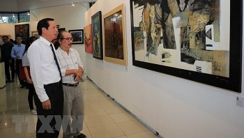 intl exhibition in hue features over 80 artworks