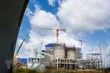 turbines installed at song hau 1 thermal power project