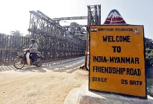 india extends us 5 million aid to myanmar for border development projects