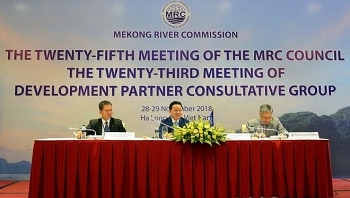 25th meeting of mekong river commission council opens in quang ninh