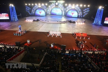 eighth national sports games kicks off in hanoi