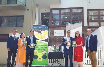 vietnamese durian trademark promoted in australia