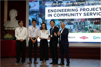 dow vietnam receives amchams corporate social responsibility recognition award