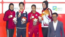 vietnam win gold at world wushu champs in shanghai