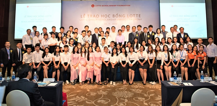 sixty students get lotte scholarship