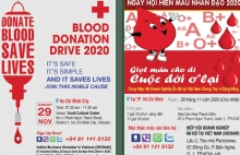 incham blood donation drive 2020