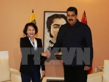 na leader affirms boosting ties with venezuela