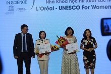 loreal for women in science awards winners honoured