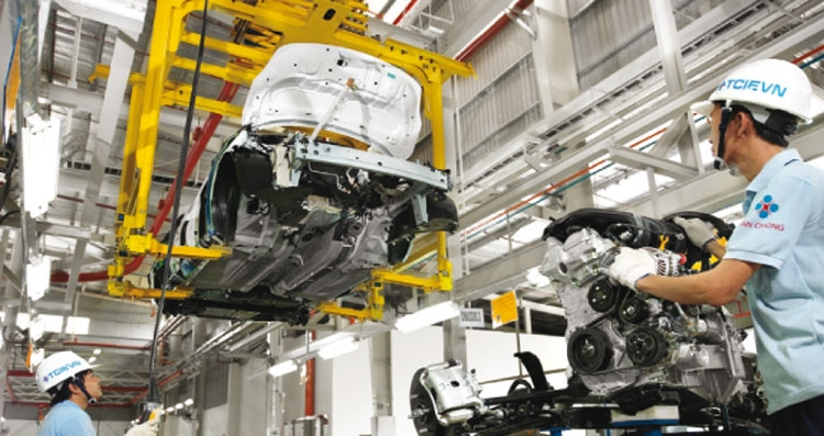support industries speed up automobile sector