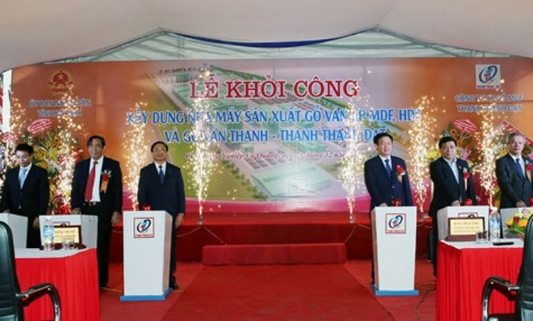 work starts on 634 mln usd wood processing factory in ha tinh