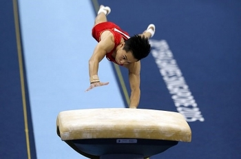 tung wins three golds at national gymnastics event