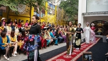 vietnamese ao dai space opens to visitors