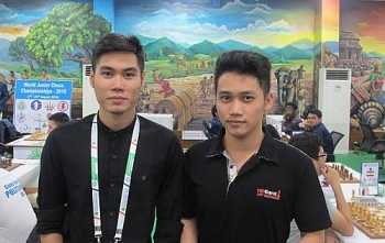 vietnamese chess player secure silver at philippine intl competition