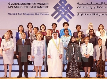 global summit of women parliament speakers opens