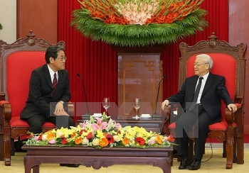 vietnam considers japan top partner party chief