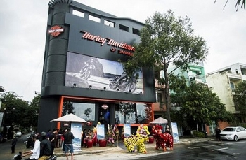 harley davidson opens showroom in da nang
