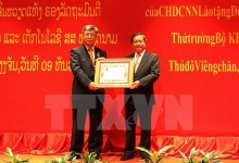 laos recognises vietnamese officials efforts with issara order