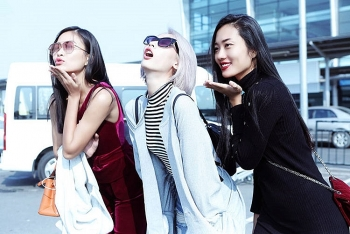 top models gather in hanoi for free music fashion show