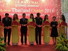 made in thailand outlet fair opens in hanoi