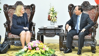 pm phuc receives irish ambassador