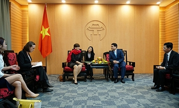 hanoi keen on fostering partnership with belgian enterprises