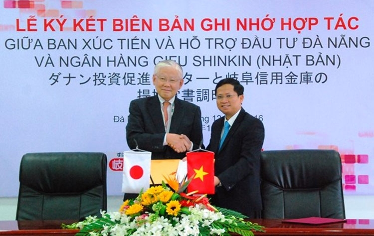 da nang japanese bank ink agreement