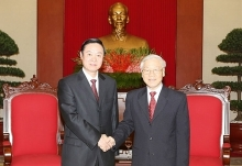 vietnam china called to share party building experience