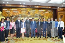 hanoi italy cooperate to develop transport infrastructure