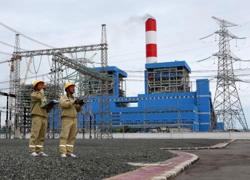duyen hai power plant produces 59 billion kwh of electricity