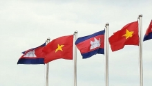 vietnam cambodia trade and investment forum opens