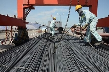 steel exports grow despite drop in domestic sales