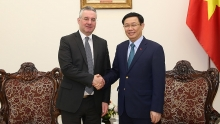 vice chair of eps international trade committee welcomed in hanoi