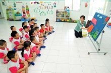 japanese kids corporation interested in vietnams kindergarten market