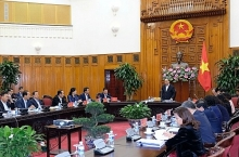 pm works with an giang lao cai authorities