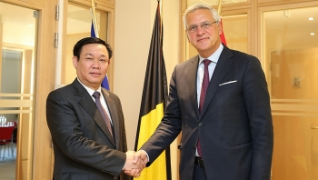 vietnam belgium agree to accelerate the signing and ratification of evfta