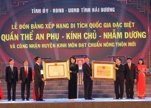 kinh mon recognized as new rural district in hai duong province