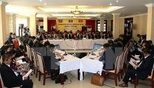 clv senior officials meeting opens in binh phuoc